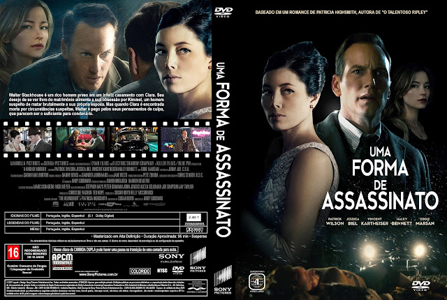 Capa DVD Uma Forma De Assassinato [Exclusiva]