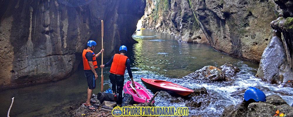 titik finish batu lumpang garden aktivitas kayak dan kano
