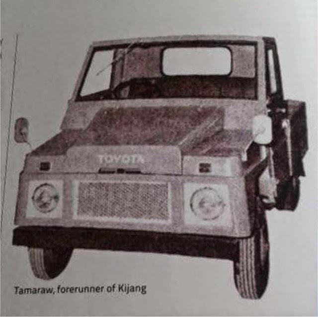 Toyota Tamaraw forerunner kf10 philipine. Prototype kijang buaya