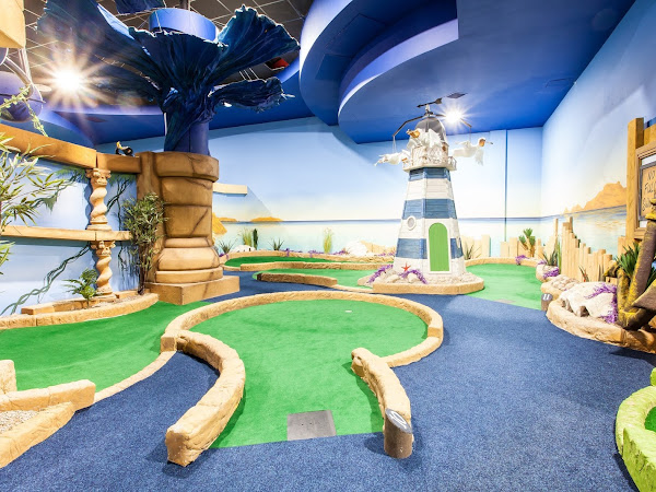 Paradise Island Adventure Golf - Cheshire Oaks Giveaway