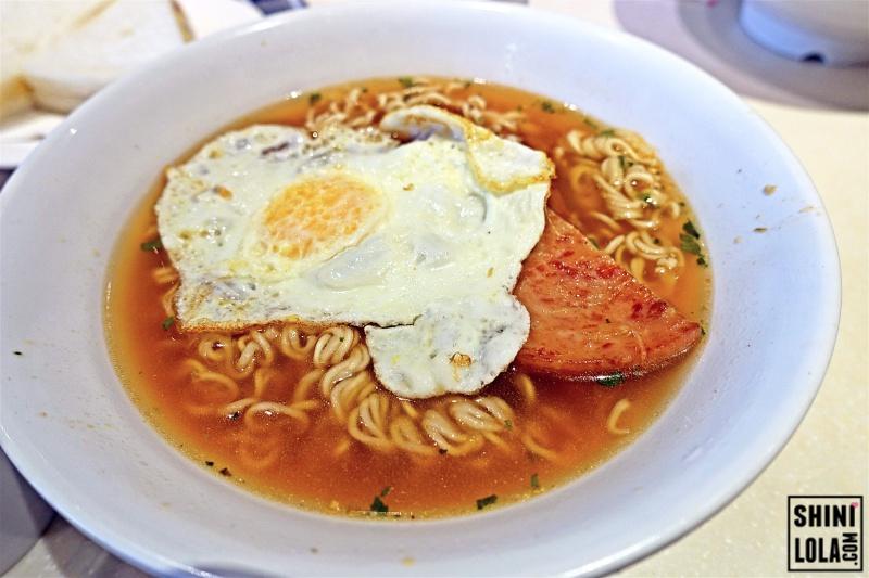 HK STYLE INSTANT NOODLE (餐蛋面)