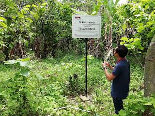 Tanah Zainudin di Bani Hasan Juga Disita KPK