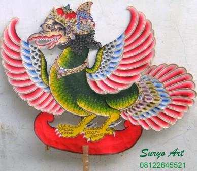 Jual Wayang Kulit  Java Handicrafts SURYOART 0312