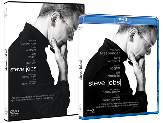 A la venta 'Steve Jobs' en DVD y Blu-ray