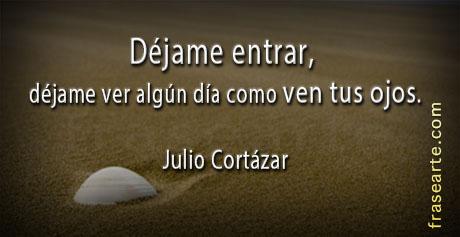 Déjame entrar - Frases Julio Cortázar