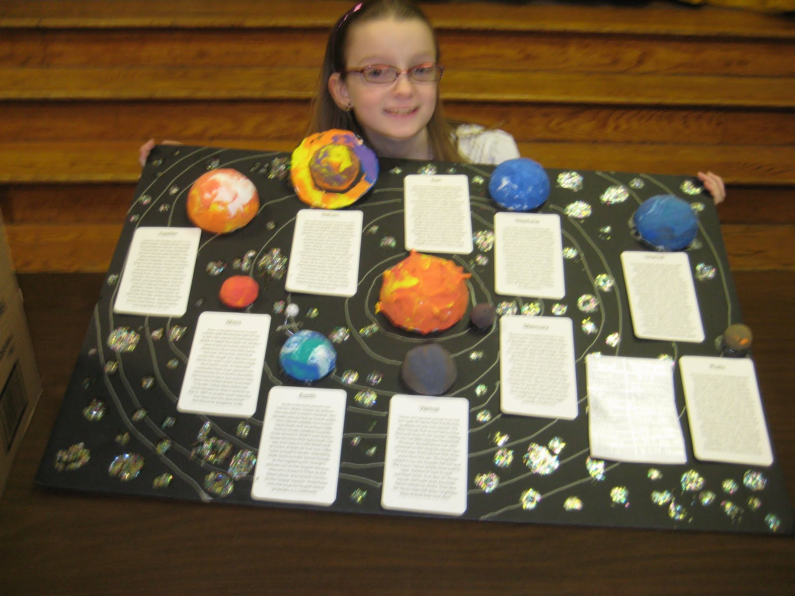 Easy Science Worksheet About Planets