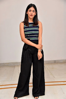 Chandini Chowdary at Sucheta DreamWorks Productions Movie Opening