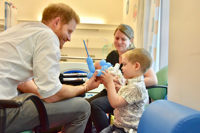 Książę Harry z wizytą w Oxfordzie
