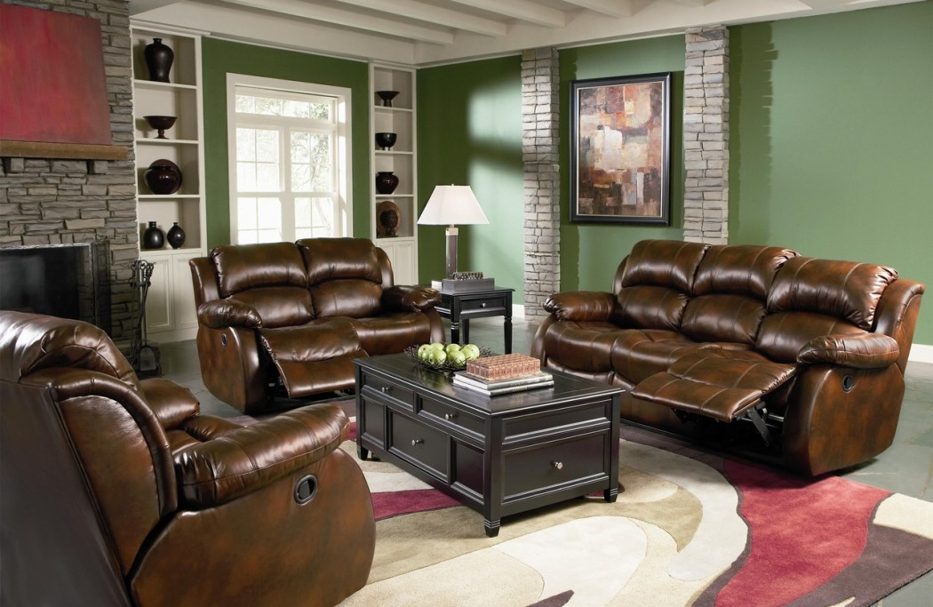How To Decorate A Living Room With Green Walls Amp Brown