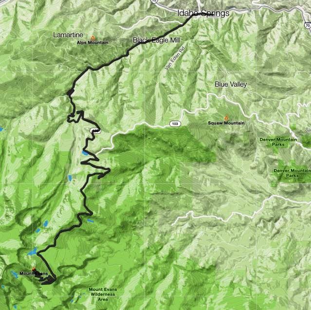 albertnet: Ride Report - Mount Evans with Teenager - 14,270' Summit!