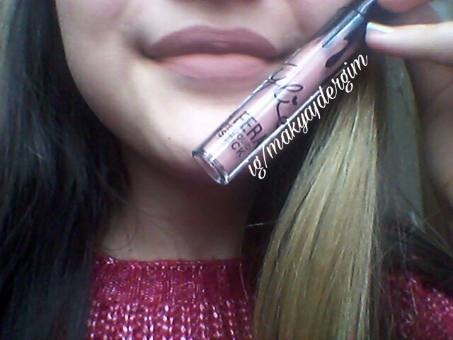 Kylie çakma Lip Kit Incelemesi Kozmetikten Bir Parça