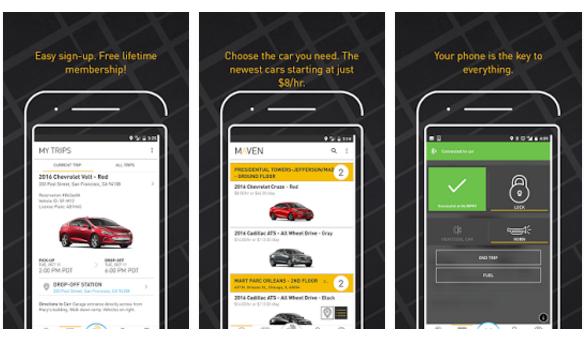 Maven, app by General Motors - Youth Apps - Best Website for Mobile