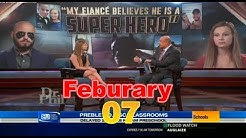 Dr Phil Show Feburary 7 2019 ♛ My Fiancé Believes He's a