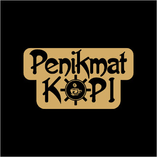 Penikmat Kopi Free Download Vector CDR, AI, EPS and PNG Formats