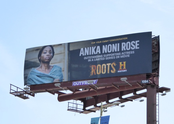 Roots Anika Noni Rose 2016 Emmy FYC billboard