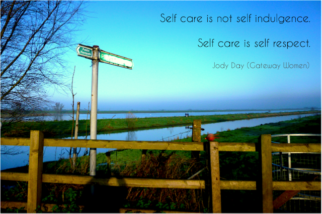 Self Care verses Self Indulgence