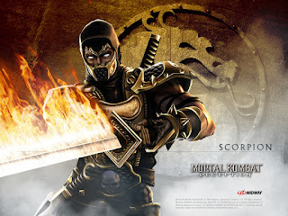 Scorpion Mortal Combat HD Wallpaper