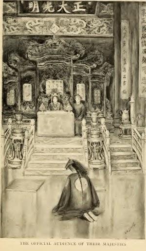 Katharine sarà pittrice disegnatrice artista della Corte Imperiale cinese dell'Imperatrice
