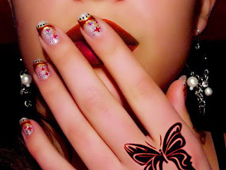 Latest nail Art wallpaper