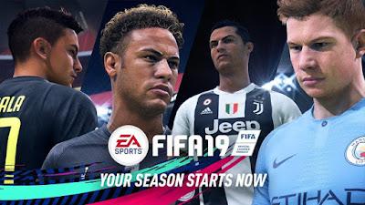FIFA 19 PPSPP Android New Season 2018/2019