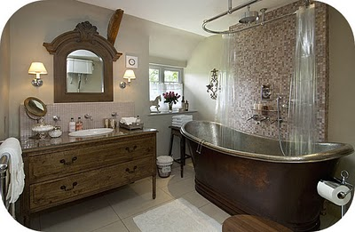 English Country Cottages Putting On The Charm To Your Cottage Style Bathrooms