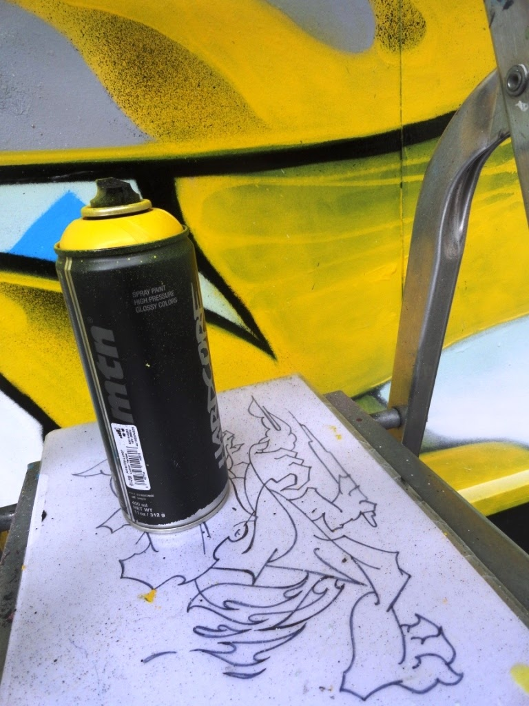 defo graffiti