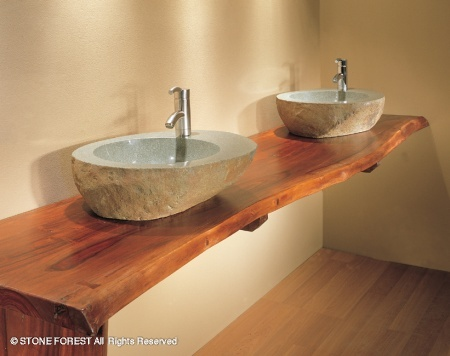 Entirely Design Teak Is Fabulous In A Bathroom