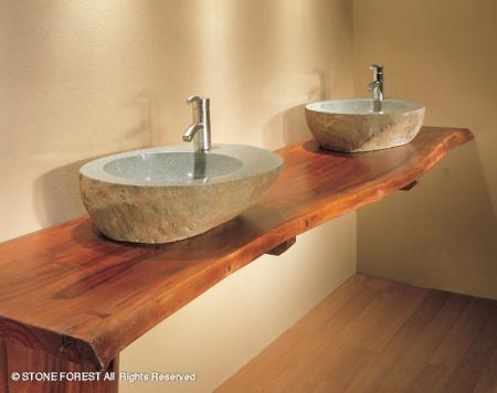 Entirely Design Teak Is Fabulous In A Bathroom