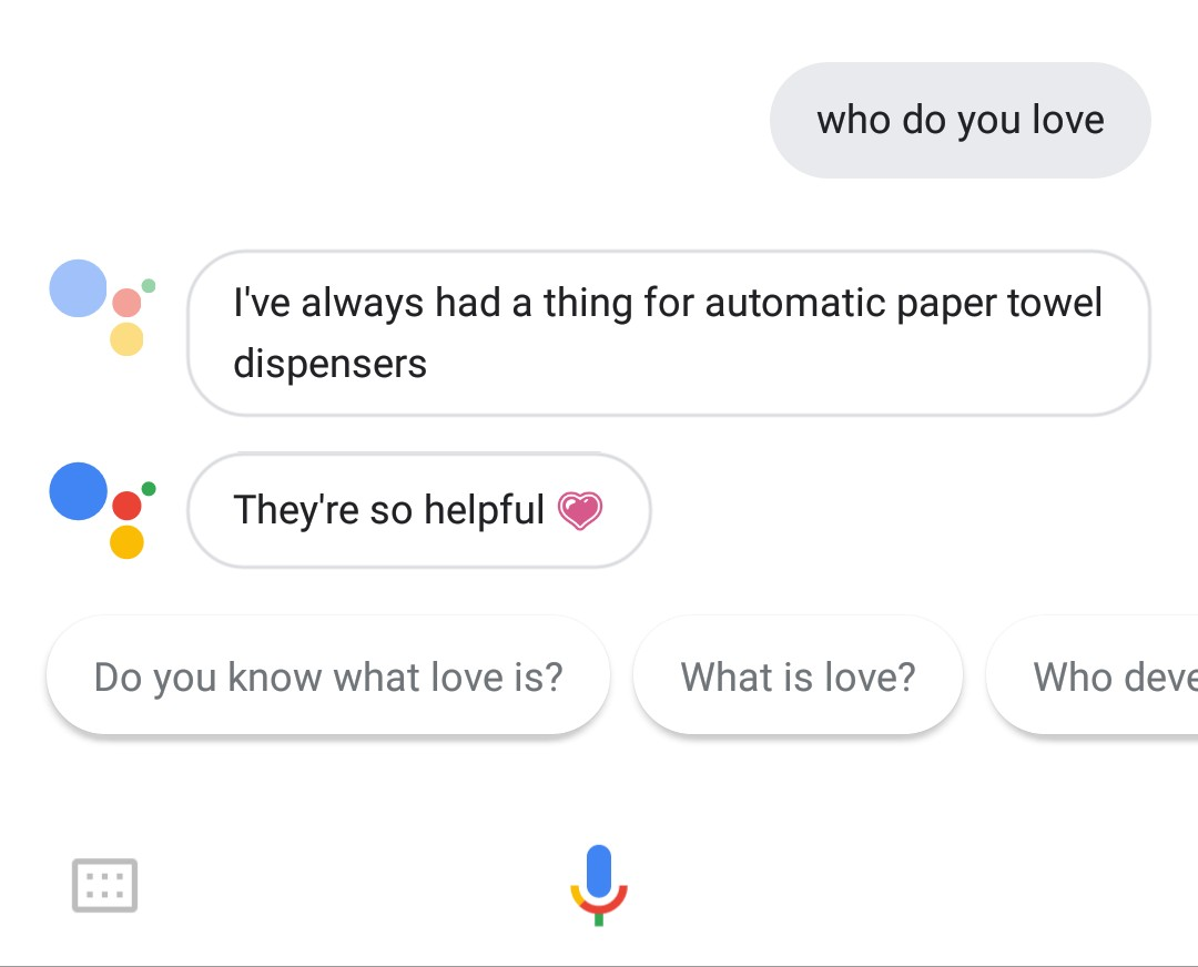 Hey Google, Who do you love?