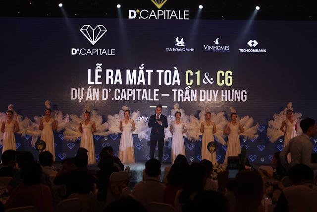 Ra mắt dự án Vinhomes D'. Capitale Trần Duy Hưng