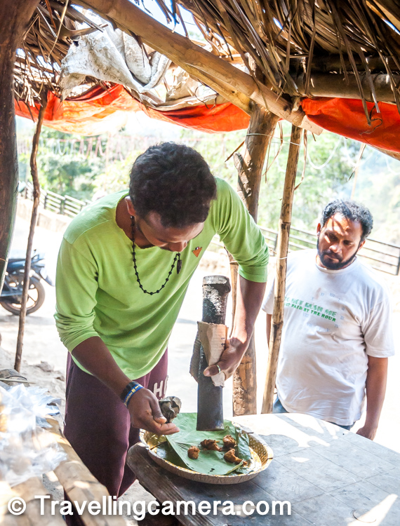 If you are in Araku valley and like non-vegeterian food, don't miss the Bamboo chicken which local delicacy and a popular tribal dish.     Do check out more about Arakau Valley and it's marvels in detail on other blogposts mentioned in this post and do share your comments with us.