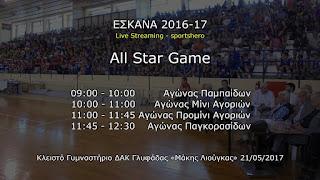 ΥΠΕΝΘΥΜΙΣΗ: To All Star Game της ΕΣΚΑΝΑ στις 20 Μαίου 2018 και οι επιλογές αθλητών και αθλητριών