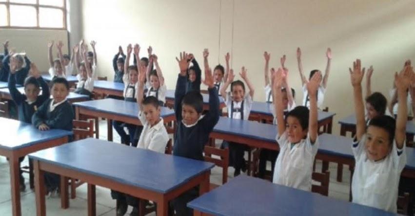 Se reanudan clases en 15 colegios de provincia de Antabamba - Apurímac