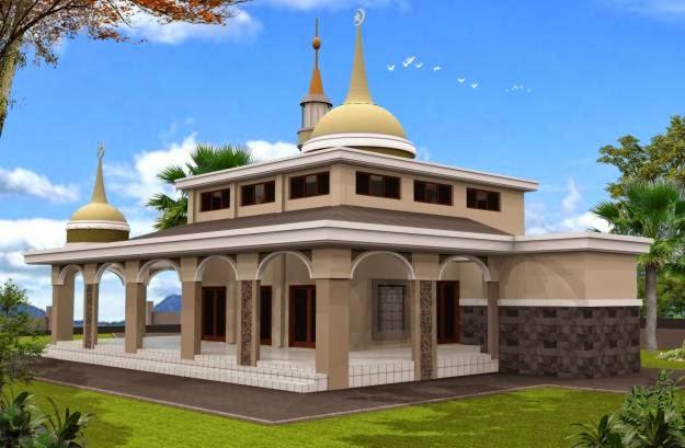 Desain Masjid Minimalis | Desain Properti Indonesia