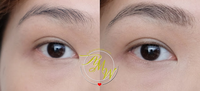 before and after of L'Oreal Brow Artist Xpert Review