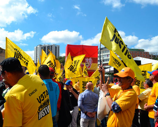 PJ reiteró marcha del 1S a pesar de aprobación del 20%