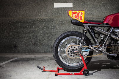 Ducati 860 GT seat by XTR Pepo