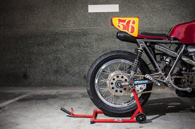 Ducati 860 GT seat by XTR Pepo