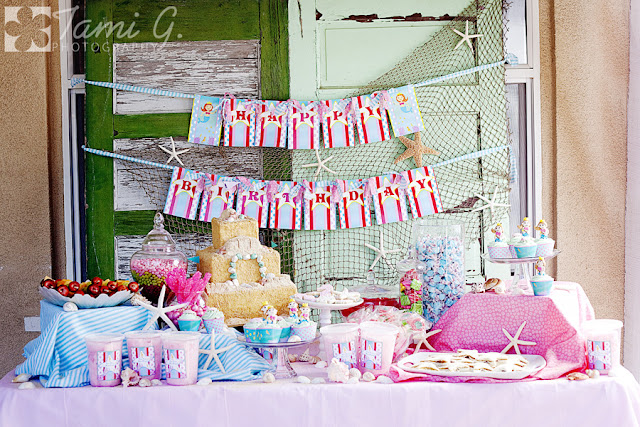Karas Party Ideas Mermaid Birthday