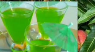 Raw Mango Syrup-Kacche Aam Ka Syrup-Homemade syrup