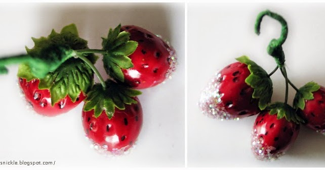 Dressing Up Millinery Fruits For The Christmas Tree