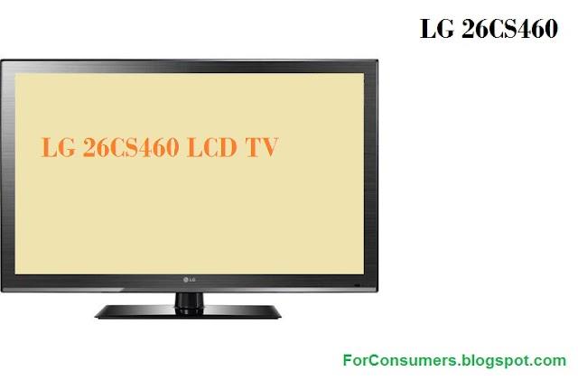 LG 26CS460 LCD TV - cheap 26-inch LG LCD TV