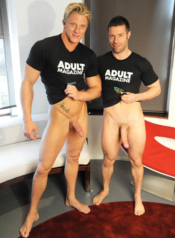 sexo gay Dotado fudendo loiro sarado - TristanJaxx & Phillip Aubrey