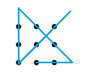 Jaquecas Matemáticas Los 9 Puntos Solución