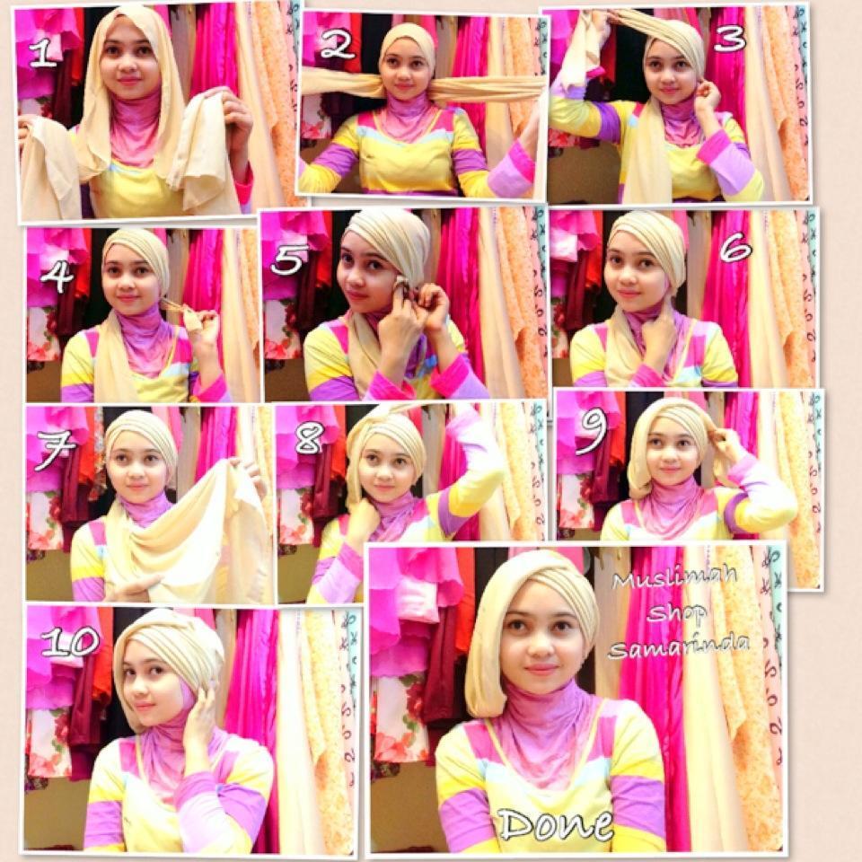 18 Model Hijab Wisuda Untuk Wajah Bulat Tutorial Hijab Terbaru