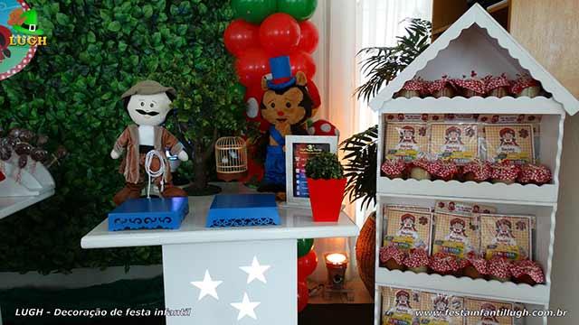 Decoração de festa Chapeuzinho Vermelho - Aniversário infantil