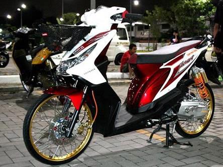 Foto Modifikasi Motor BeAT FI Terbaru 2015