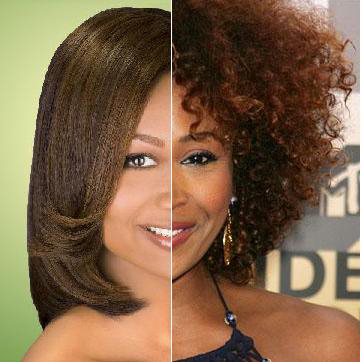 Texturizer On Caucasian Natural Hair Before And After