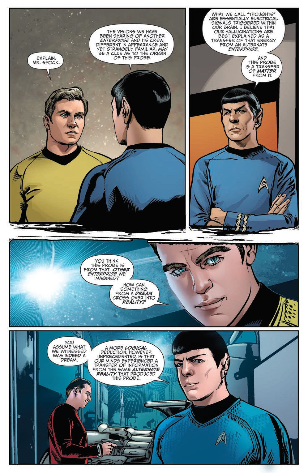 The Trek Collective: Comic previews: Connection part 2, and Star ...