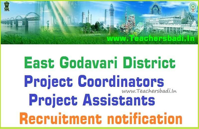 East Godavari,District Project Coordinators,Project Assistants Recruitment 2016